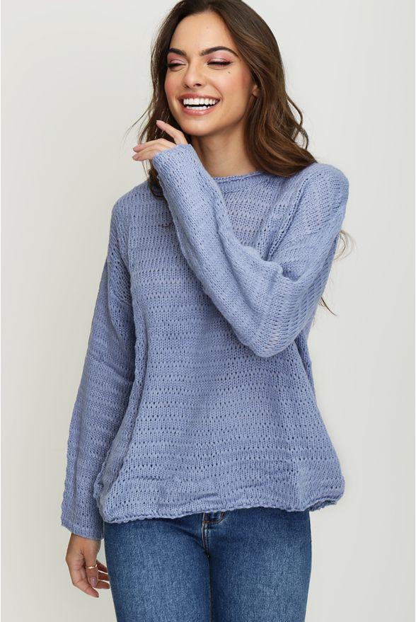 tricot-azul