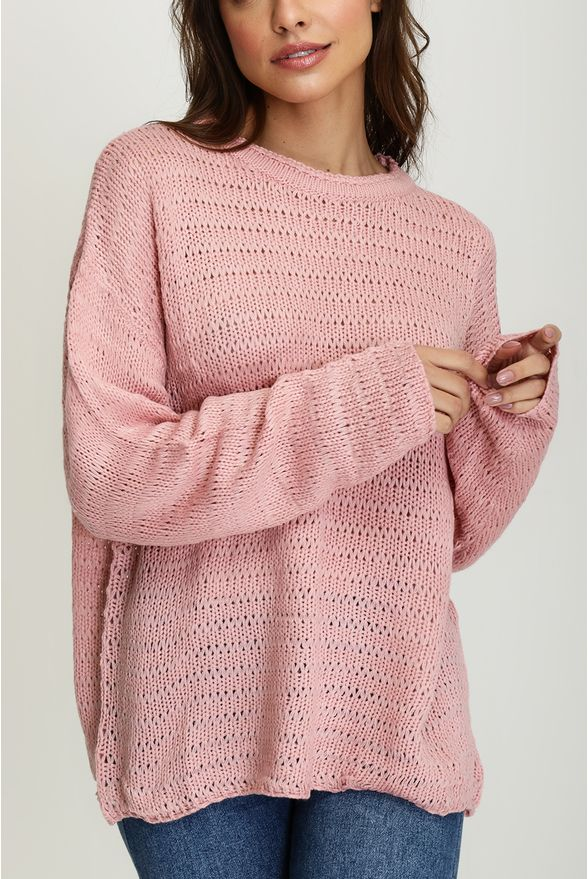 tricot-rose