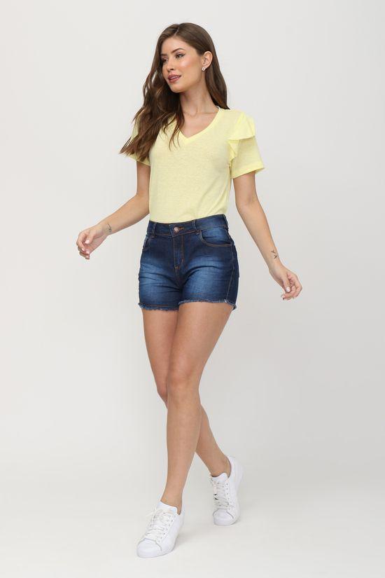 tshirt-babados-amarela-gazzy